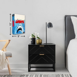 Jaws Drink Coaster - UNMASKED Horror & Punk Patches and Decor