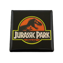 Load image into Gallery viewer, Jurassic Park Magnet - UNMASKED Horror & Punk Patches and Decor