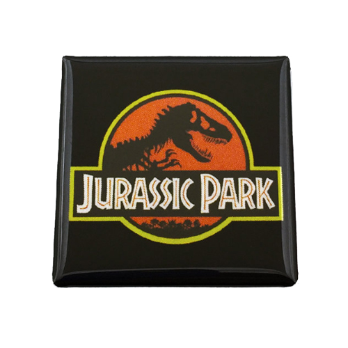 Jurassic Park Magnet - UNMASKED Horror & Punk Patches and Decor