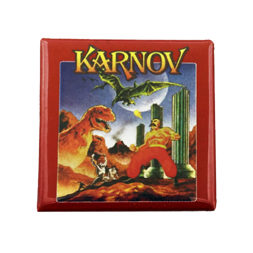 Karnov Magnet - UNMASKED Horror & Punk Patches and Decor