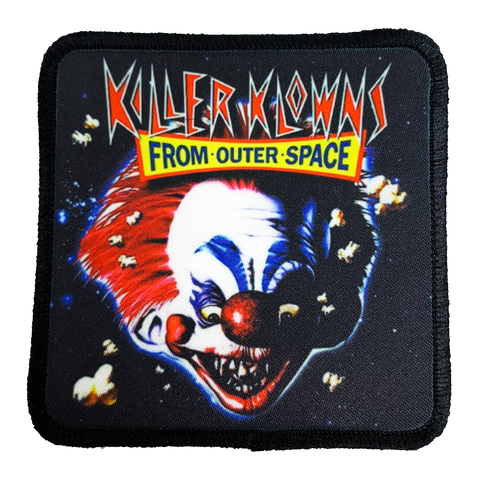 Killer Klowns Iron-On Patch - UNMASKED Horror & Punk Patches and Decor