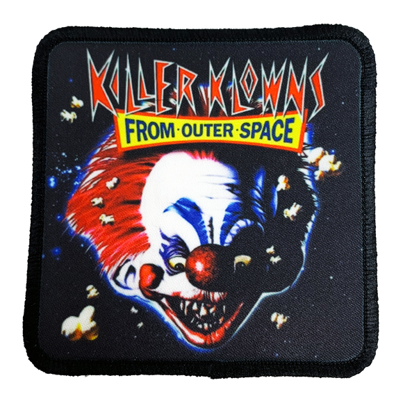 Killer Klowns Iron-On Patch - UNMASKED