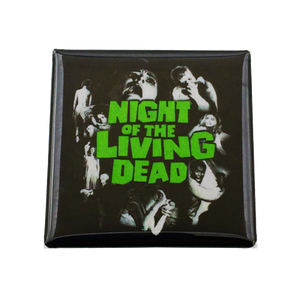 Night of the Living Dead Magnet - UNMASKED
