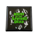 Night of the Living Dead Magnet - UNMASKED Horror & Punk Patches and Decor