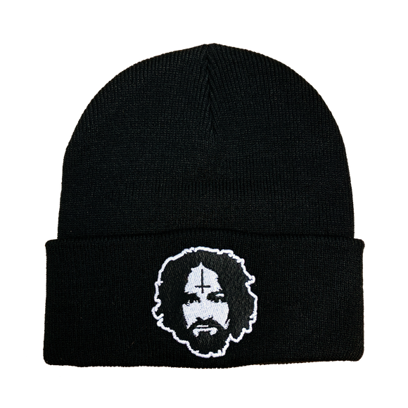 Charles Manson Embroidered Beanie - UNMASKED