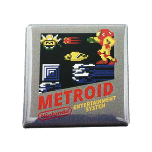 Metroid Magnet - UNMASKED Horror & Punk Patches and Decor