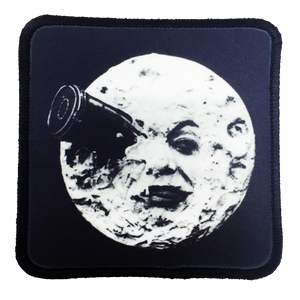 A Trip to the Moon Iron-On Patch - UNMASKED Horror & Punk Patches and Decor