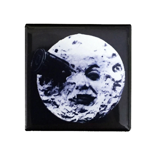 A Trip to the Moon Magnet - UNMASKED Horror & Punk Patches and Decor
