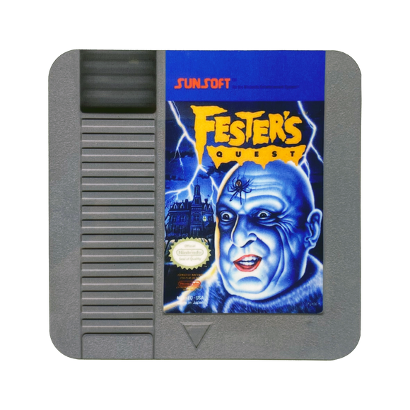 Fester's Quest NES Drink Coaster