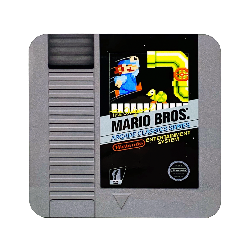 Original Mario Bros NES Drink Coaster