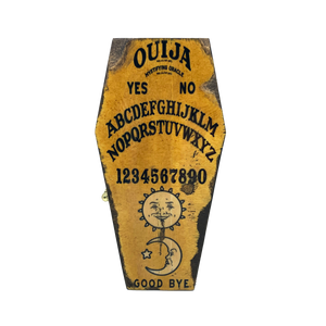Ouija Board Mini Coffin - UNMASKED Horror & Punk Patches and Decor