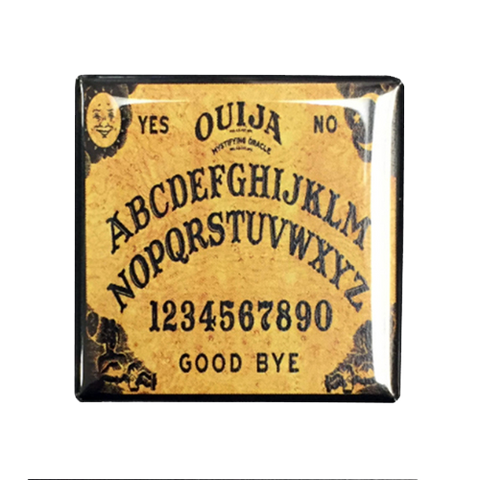 Ouija Board Magnet - UNMASKED Horror & Punk Patches and Decor