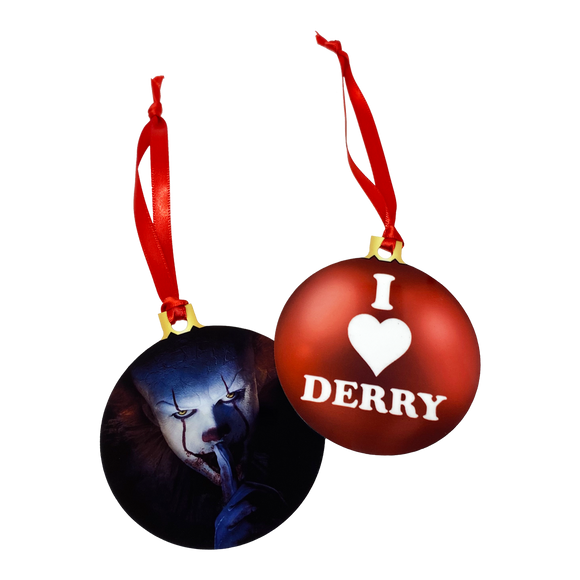 Pennywise 2-Sided Holiday Ornament