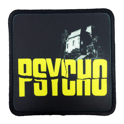 Psycho Iron-On Patch - UNMASKED Horror & Punk Patches and Decor