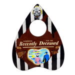 Handbook for the Recently Deceased Ouija Planchette - UNMASKED Horror & Punk Patches and Decor