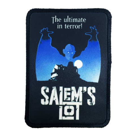 Salems Lot Iron-On Patch - UNMASKED Horror & Punk Patches and Decor