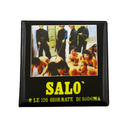 Salo 120 Days of Sodom Magnet - UNMASKED Horror & Punk Patches and Decor