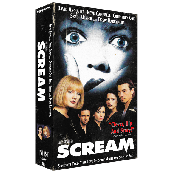 Scream Drink Coaster - UNMASKED Horror & Punk Patches and Decor