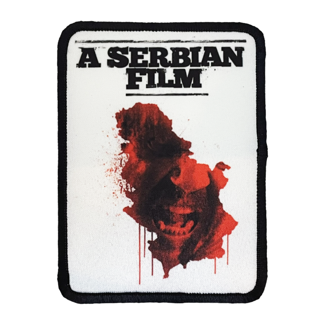A Serbian Film Iron-On Patch
