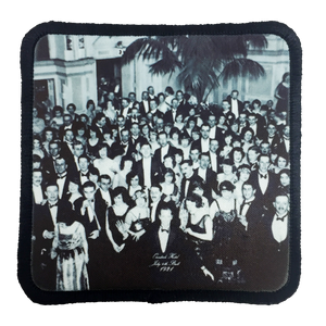 The Shining Ballroom Photograph Iron-On Patch - UNMASKED