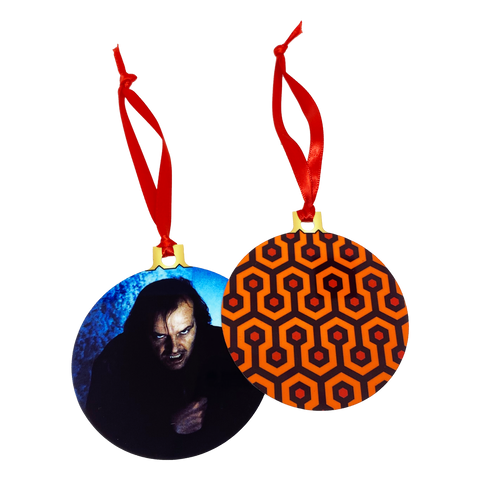 The Shining 2-Sided Holiday Ornament - UNMASKED Horror & Punk Patches and Decor