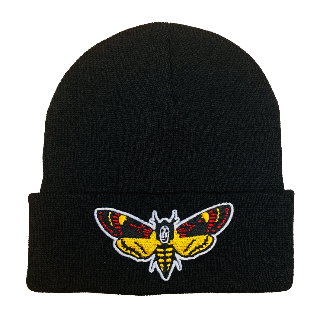 Silence of the Lambs Embroidered Beanie - UNMASKED Horror & Punk Patches and Decor