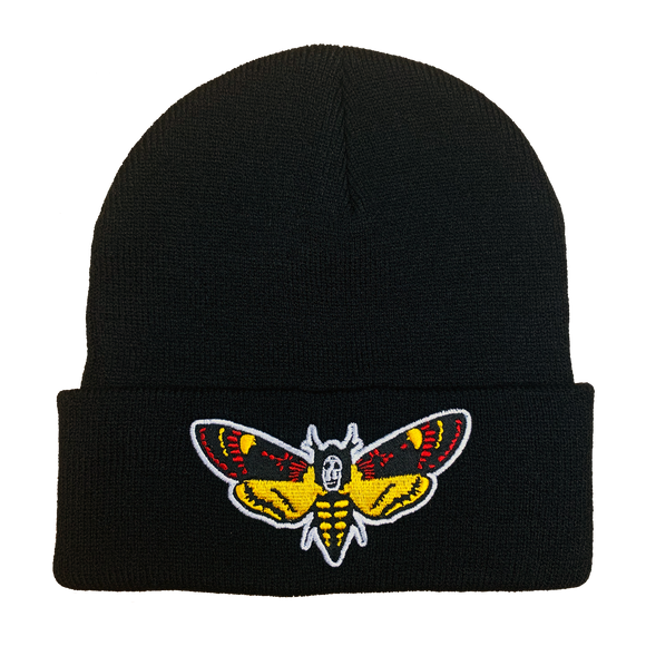 Silence of the Lambs Embroidered Beanie - UNMASKED
