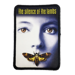 Silence of the Lambs Iron-On Patch - UNMASKED Horror & Punk Patches and Decor