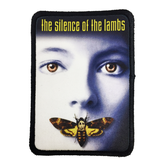 Silence of the Lambs Iron-On Patch - UNMASKED