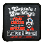 Captain Spaulding Iron-On Patch - UNMASKED Horror & Punk Patches and Decor