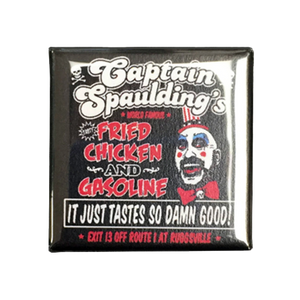 Captain Spaulding Magnet - UNMASKED Horror & Punk Patches and Decor