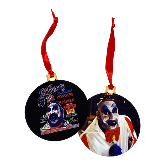 Captain Spaulding 2-Sided Holiday Ornament