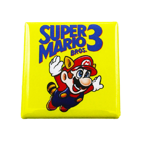 Super Mario Bros. 3 Magnet - UNMASKED Horror & Punk Patches and Decor