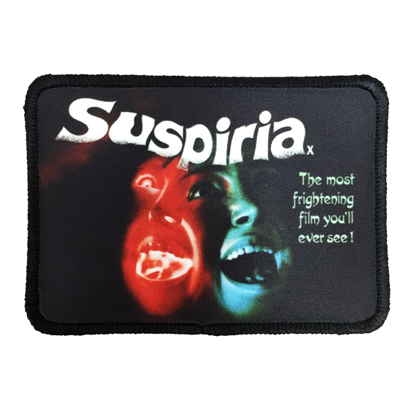 Suspiria Iron-On Patch - UNMASKED Horror & Punk Patches and Decor