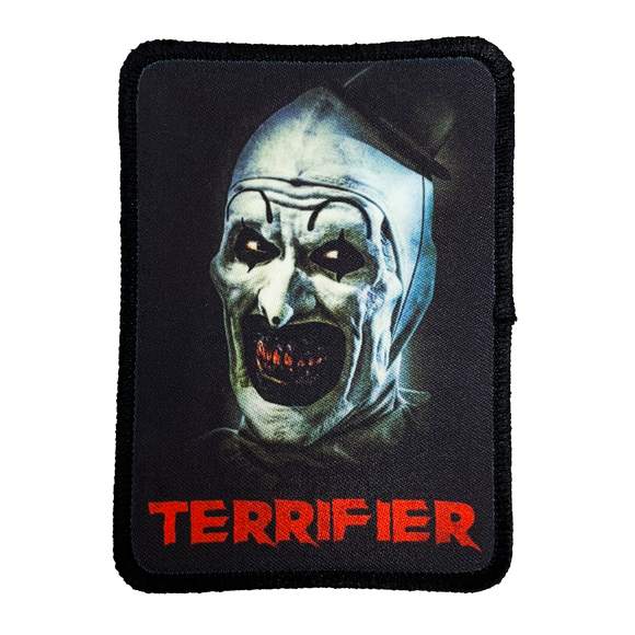 Terrifier Iron-On Patch - UNMASKED Horror & Punk Patches and Decor