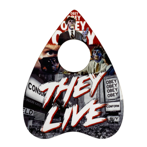 They Live Drink Coaster - UNMASKED Horror & Punk Patches and Decor