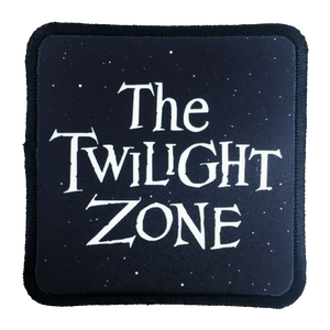 Twilight Zone Iron-On Patch - UNMASKED
