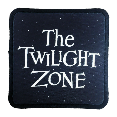 Twilight Zone Iron-On Patch - UNMASKED Horror & Punk Patches and Decor