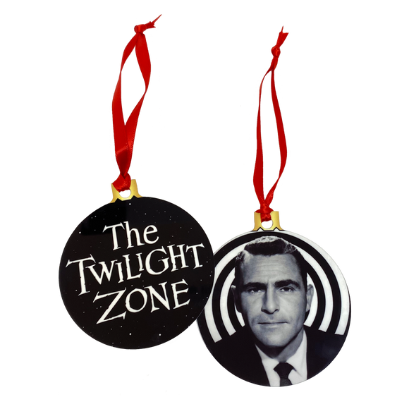 Twilight Zone 2-Sided Holiday Ornament