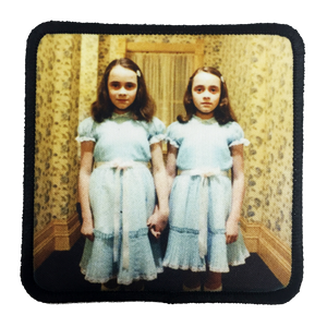 The Shining Twins Iron-On Patch - UNMASKED