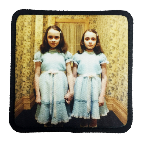 The Shining Twins Iron-On Patch - UNMASKED Horror & Punk Patches and Decor