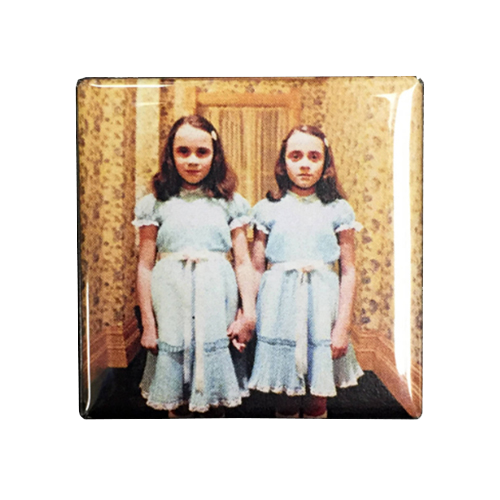 The Shining Twins Magnet - UNMASKED