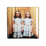 The Shining Twins Magnet - UNMASKED Horror & Punk Patches and Decor