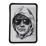 Unabomber Iron-On Patch - UNMASKED Horror & Punk Patches and Decor