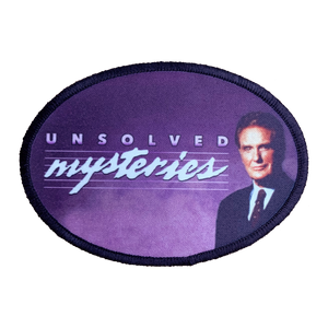 Unsolved Mysteries Iron-On Patch - UNMASKED Horror & Punk Patches and Decor