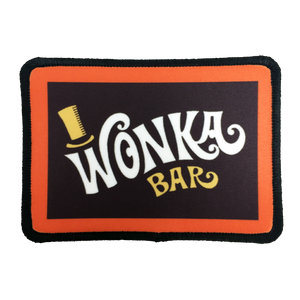 Willy Wonka Iron-On Patch - UNMASKED