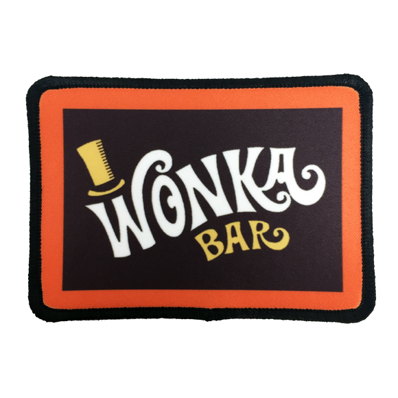 Willy Wonka Iron-On Patch - UNMASKED Horror & Punk Patches and Decor