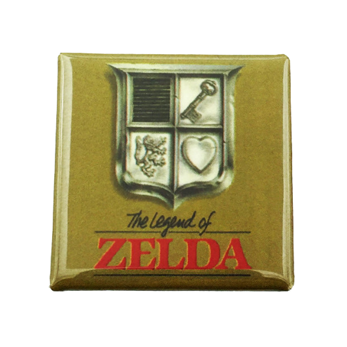 The Legend of Zelda Magnet - UNMASKED Horror & Punk Patches and Decor
