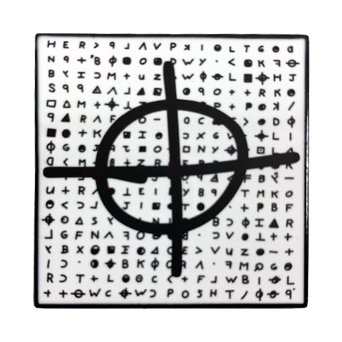 Zodiac Killer Enamel Pin - UNMASKED Horror & Punk Patches and Decor