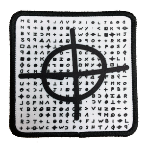 Zodiac Killer Iron-On Patch - UNMASKED Horror & Punk Patches and Decor